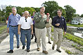 FEMA - 35636 - FEMA Administrator Paulison and elected officials in Iowa.jpg