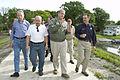 FEMA - 35636 - FEMA Administrator Paulison and elected officials in Iowa.jpg