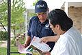 FEMA - 43707 - FEMA Community Relations worker talking to a residet of New Jersey.jpg