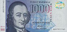 1000 markkaa reverse