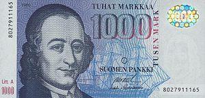 1000 Mark Vorderseite