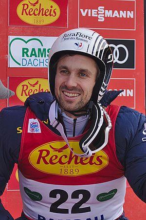 Maxime Laheurte - Image: FIS Worldcup Nordic Combined Ramsau 20161217 DSC 7532