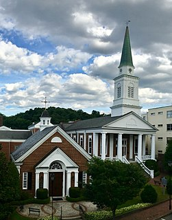 First Presbyterian Church (Greeneville, Tennessee) Church in Tennessee, United States