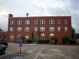 Fairmont, North Carolina - Fairmont town hall