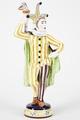 Fajans, figur, Prins Carneval - Hallwylska museet - 90469.tif
