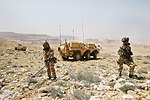 Falcon Sqn FUCHS vehicle in Jordan MOD 45164572.jpg