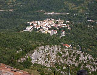Fallo Comune in Abruzzo, Italy