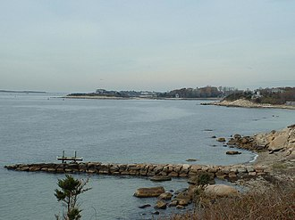 Falmouth, Massachusetts - Juniper Point, the eastern point of Woods Hole in Falmouth