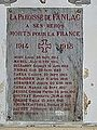 Fanlac église mémorial.JPG