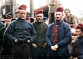 Faroese fishermen onboard a steamer on their way home from Icelandic fishing, 1898. (49793633338).jpg
