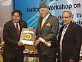 Farooq Abdullah gave away the Awards and Certificates of Merit to Solar Power Developers for their outstanding performance, at a function, in New Delhi on December 17, 2013.jpg