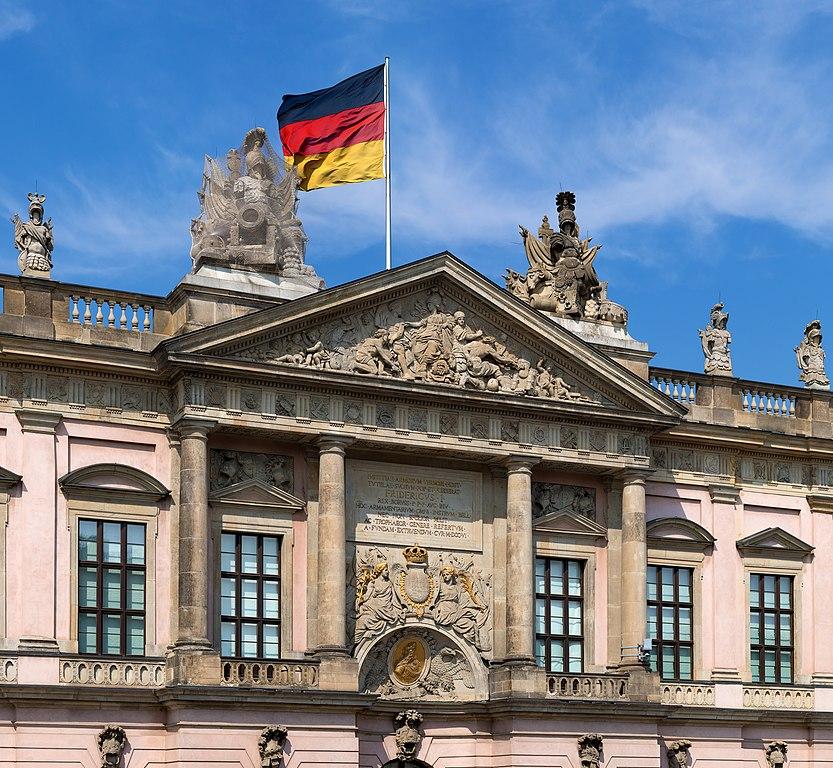 Musée d'histoire Allemande, dans l'ancien Arsenal, le plus vieux batiment de l'Unter den linden à Berlin.