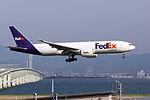 FedEx Express, FX74, Boeing 777-FS2, N853FD, Arrived from Tokyo, Kansai Airport (17000273298).jpg