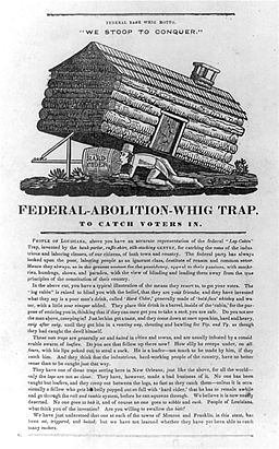 Federal-Abolition-Whig Trap