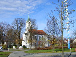 Protestant Church in Feldkirchen (view from south).