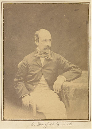 Charles John Wingfield - Photograph by Felice Beato, 1858–1859