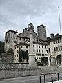 Feltre Piazza Maggiore e il castello di Alboino.jpg