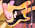 Fender Precision Bass played by Stephen Desaulniers 1, Ray Mason Band, 2010-12-31.jpg