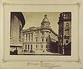 Ferenciek tere - Reáltanoda utca sarok, Egyetemi Könyvtár. 1876-1884 között - Budapest, Fortepan 82180.jpg