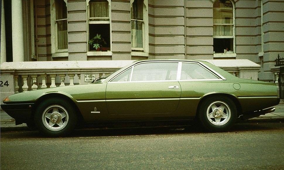 Ferrari 365 GT4 2+2 in North London - 1974