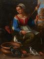 Fiandeira com aves domésticas e objectos - Morgado de Setúbal (atribuído).png