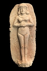 Figurine of a naked woman