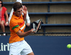 International Tennis Federation - Filip Peliwo, ITF Junior World Champion 2012, during the 2012 Junior US Open