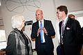 Finlands statsminister Jyrki Katainen samtalar med Fredrik Reinfeldt Sveriges statsminsiter och Johanna Sigurdardottir Islands statsminsier. Nardiska radets session 2011.jpg
