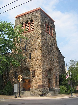 Peter Herdic - Image: First Baptist Church Williamsport Pennsylvania
