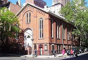 Madison Avenue Baptist Church - The church's second home at 154 Lexington Avenue
