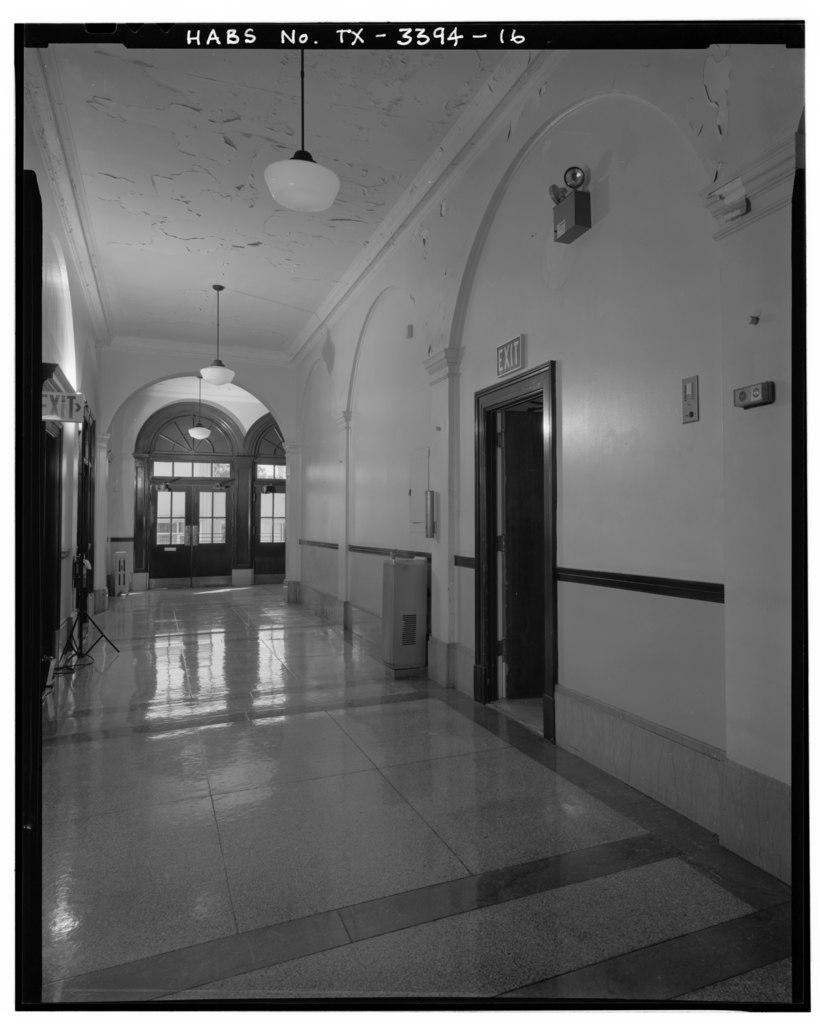 File First Floor Main Corridor Looking Southwest Del