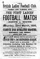 First ladies football match north v south 1895.jpg