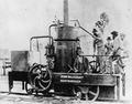 First steam locomotive built in Queensland the Mary Ann, ca. 1875.tiff