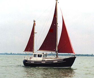 Ketch - Fisher30 motorsailer ketch