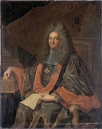 Joseph Fleuriau d'Armenonville - Joseph Fleuriau d'Armenonville, a portrait by Hyacinthe Rigaud.