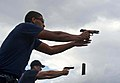 Flickr - Official U.S. Navy Imagery - Sailors shoot a M9 service pistol..jpg