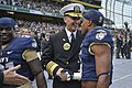Flickr - Official U.S. Navy Imagery - The CNO shakes hands with Navy Midshipman..jpg