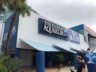 Florida Aquarium public aquarium in the United States