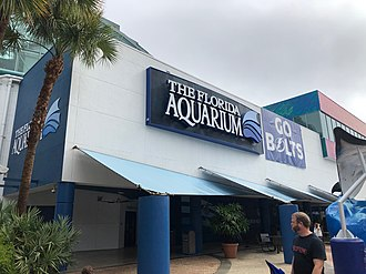 Florida Aquarium - Exterior of the Florida Aquarium