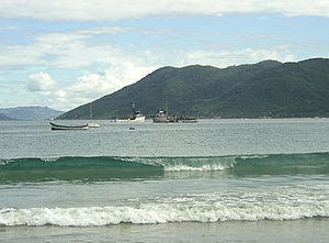 Strand von Florianópolis