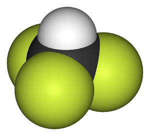 Fluoroform - Image: Fluoroform 3D vd W