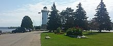 Lighthouse at Lake Winnebago, in Fond du Lac.