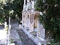 Fontana Mostra dell'Acqua Vergine (Salita del Pincio) - nieches, Viale Gabriele D'Annunzi, Pincio, Rome.jpg