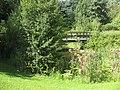 Footbridge over ornamental pond - geograph.org.uk - 1419457.jpg