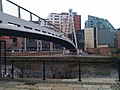 Footbridge over the Aire, central Leeds (geograph 3891613).jpg
