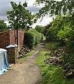 Footpath - Jackroyd Lane, Upper Hopton - geograph.org.uk - 889704.jpg