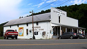 Forbus, Tennessee - Forbus General Store