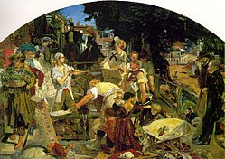 Ford Madox Brown: Le Travail