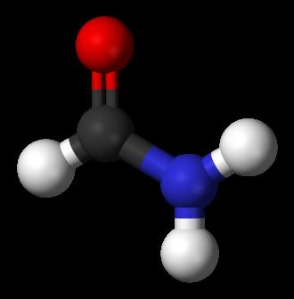 Formamide - Image: Formamide 3D balls