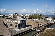 Forme Joubert - porte et usine de pompage